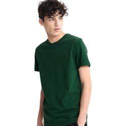 Ruhák Férfi Rövid ujjú pólók Superdry M1010067A Zöld