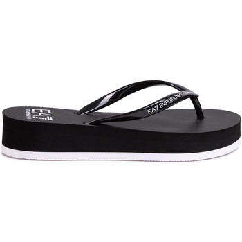 Cipők Női Lábujjközös papucsok Ea7 Emporio Armani XFQ008 XK085 Fekete