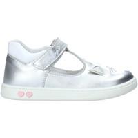 Cipők Lány Balerina cipők  Primigi 5403700 Ezüst