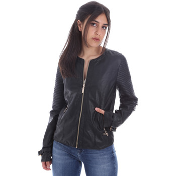 Ruhák Női Bőrkabátok / műbőr kabátok Gaudi 011BD38001 Fekete