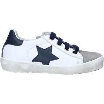 Cipők Gyerek Rövid szárú edzőcipők Naturino 2014752 01 Fehér