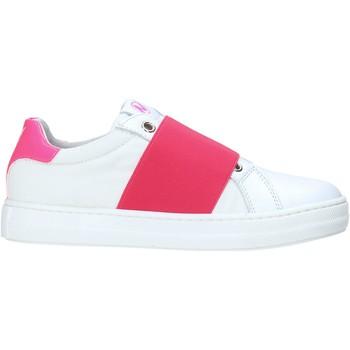 Cipők Lány Rövid szárú edzőcipők Naturino 2012540 01 Fehér
