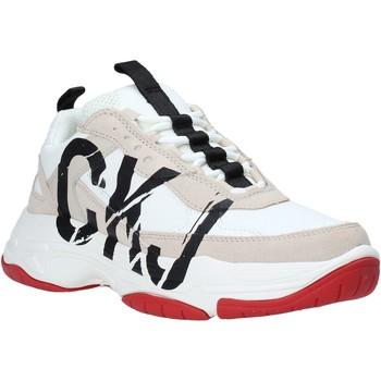 Cipők Női Rövid szárú edzőcipők Calvin Klein Jeans B4R0869 Fehér