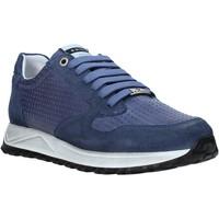 Cipők Férfi Rövid szárú edzőcipők Exton 751 Kék