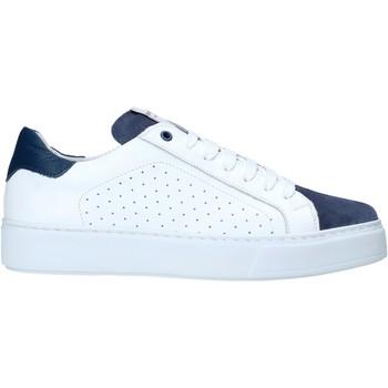 Cipők Férfi Rövid szárú edzőcipők Exton 860 Fehér