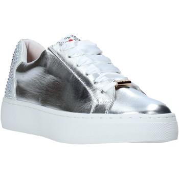 Cipők Női Rövid szárú edzőcipők Love To Love TER32 Ezüst