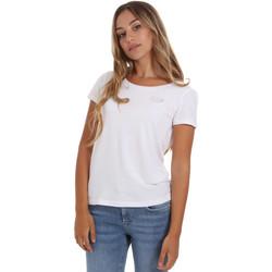 Ruhák Női Rövid ujjú pólók Ea7 Emporio Armani 8NTT64 TJ28Z Fehér
