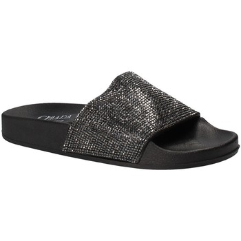 Cipők Női strandpapucsok Chiara Pacini C18E2506 Fekete
