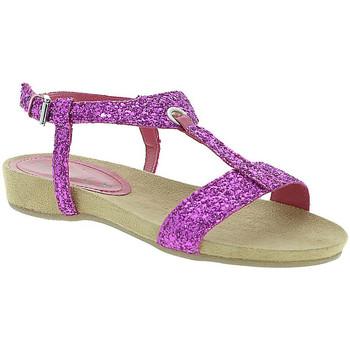 Cipők Női Szandálok / Saruk Mally 4681 Rózsaszín