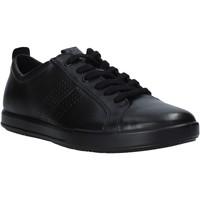 Cipők Férfi Rövid szárú edzőcipők Ecco 53625401001 Fekete