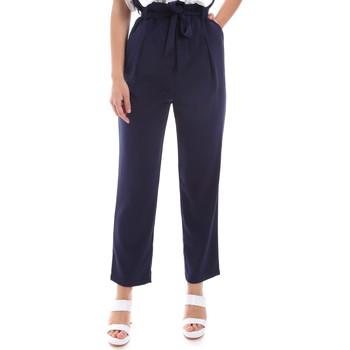 Ruhák Női Chino nadrágok / Carrot nadrágok Gaudi 011BD25040 Kék