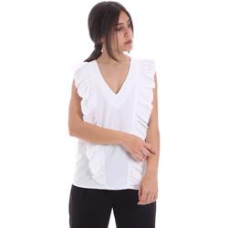 Ruhák Női Blúzok Gaudi 011BD45031 Fehér