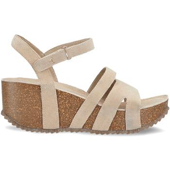 Cipők Női Szandálok / Saruk Docksteps DSE106442 Bézs