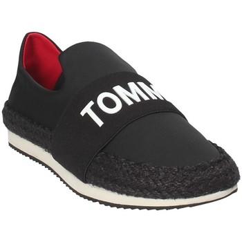 Cipők Női Belebújós cipők Tommy Hilfiger EN0EN00096 Fekete