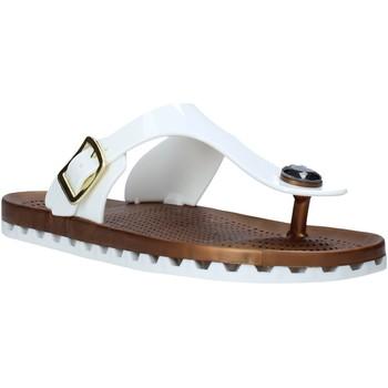 Cipők Női Lábujjközös papucsok Sensi 4050/P Fehér