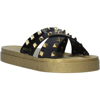Cipők Női Papucsok Sensi 4390/PY Fekete