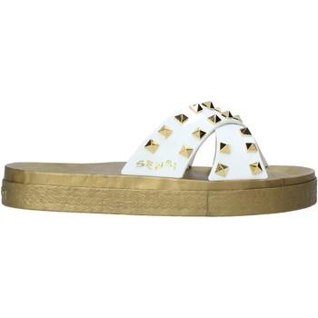 Cipők Női Papucsok Sensi 4390/PY Fehér