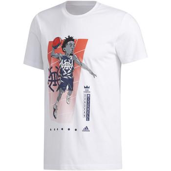 Ruhák Férfi Rövid ujjú pólók adidas Originals FM4760 Fehér