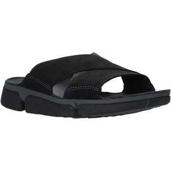Cipők Férfi Papucsok Clarks 26139563 Fekete