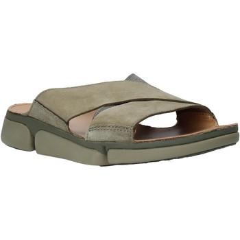 Cipők Férfi Papucsok Clarks 26139561 Zöld