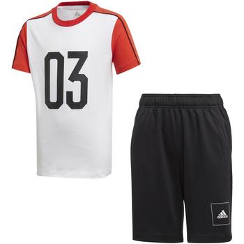 Ruhák Gyerek Melegítő együttesek adidas Originals FL2810 Fehér