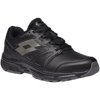 Cipők Férfi Rövid szárú edzőcipők Lotto 210693 Fekete