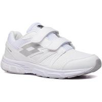 Cipők Férfi Rövid szárú edzőcipők Lotto 210694 Fehér