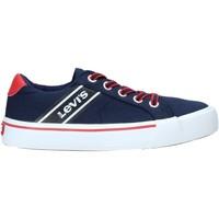 Cipők Gyerek Rövid szárú edzőcipők Levi's VKIN0001T Kék