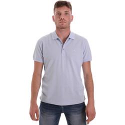 Ruhák Férfi Rövid ujjú galléros pólók Navigare NV82108 Kék