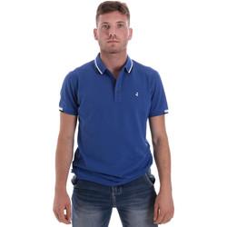Ruhák Férfi Rövid ujjú galléros pólók Navigare NV82113 Kék