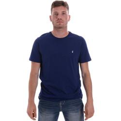 Ruhák Férfi Rövid ujjú pólók Navigare NV31126 Kék