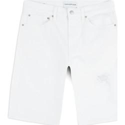 Ruhák Férfi Rövidnadrágok Calvin Klein Jeans J30J314643 Fehér