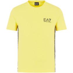 Ruhák Férfi Rövid ujjú pólók Ea7 Emporio Armani 3HPT07 PJ03Z Sárga