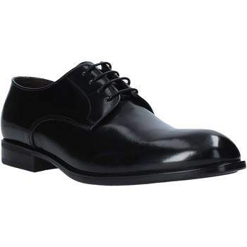 Cipők Férfi Oxford cipők Exton 1394 Fekete