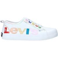 Cipők Gyerek Rövid szárú edzőcipők Levi's VBET0003T Fehér