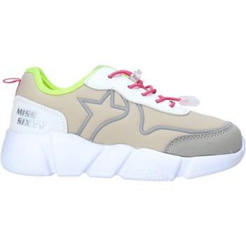 Cipők Lány Rövid szárú edzőcipők Miss Sixty S20-SMS738 Szürke