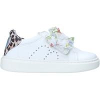 Cipők Lány Rövid szárú edzőcipők Melania ME2274D0S.A Fehér