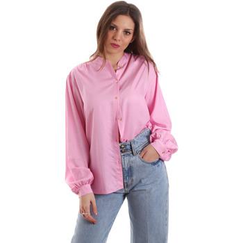 Ruhák Női Ingek / Blúzok Versace B0HVB62307619445 Rózsaszín