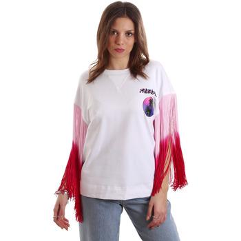Ruhák Női Rövid ujjú pólók Versace B2HVB71511701003 Fehér