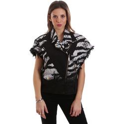 Ruhák Női Dzsekik Versace C0HVB92DHRC5X899 Fekete