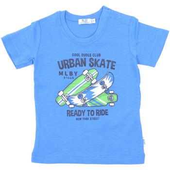 Ruhák Gyerek Rövid ujjú pólók Melby 20E7370 Kék