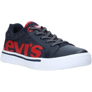 Cipők Gyerek Rövid szárú edzőcipők Levi's VFUT0042T Kék