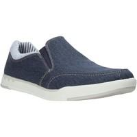 Cipők Férfi Belebújós cipők Clarks 26132626 Kék