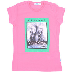 Ruhák Lány Rövid ujjú pólók Melby 70E5645 Rózsaszín