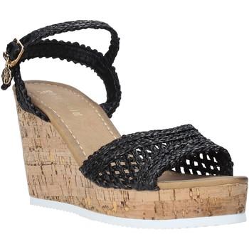 Cipők Női Szandálok / Saruk Gold&gold A20 GJ263 Fekete