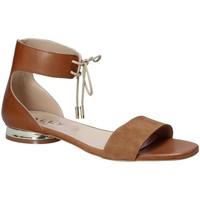 Cipők Női Szandálok / Saruk Mally 5826 Barna