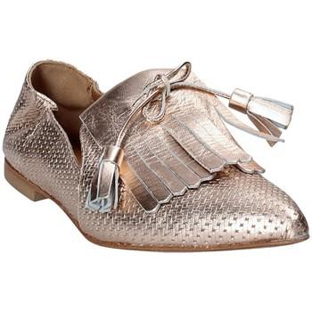Cipők Női Mokkaszínek Mally 6190 Rózsaszín
