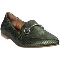 Cipők Női Mokkaszínek Mally 6264 Zöld