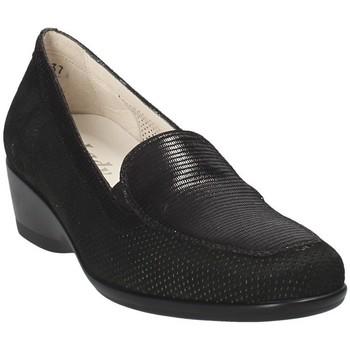 Cipők Női Mokkaszínek Melluso R30506E Fekete