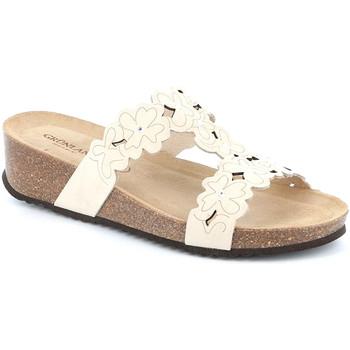 Cipők Női Papucsok Grunland CB2491 Fehér